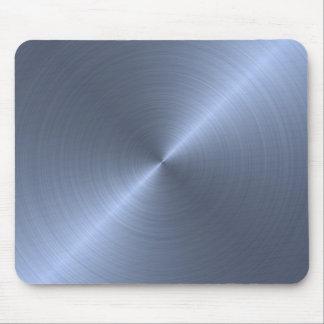 Azul metálico alfombrilla de raton