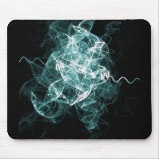 azul mezclado fractal alfombrilla de raton
