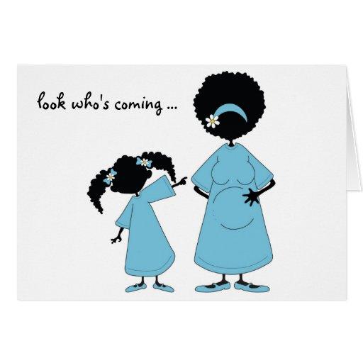 Azul: Mire quién es tarjeta que viene