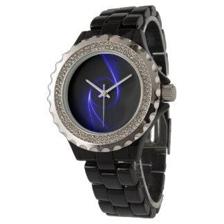 Azul místico reloj