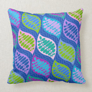 Azul moderno ausente de la almohada del flotador cojín decorativo