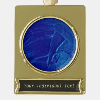 azul mojado de la textura del color adornos personalizables