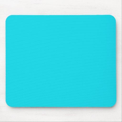 Azul Mousepad de la aguamarina