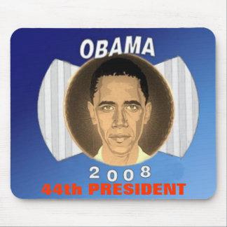 Azul Mousepad de Obama