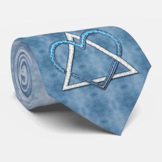 Azul nacarado (corbata) corbata personalizada