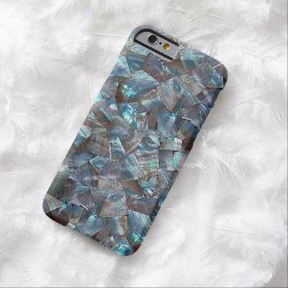 Azul nacarado funda de iPhone 6 barely there
