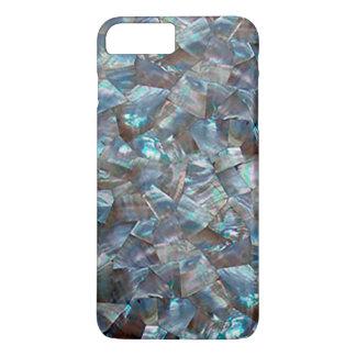 Azul nacarado funda iPhone 7 plus