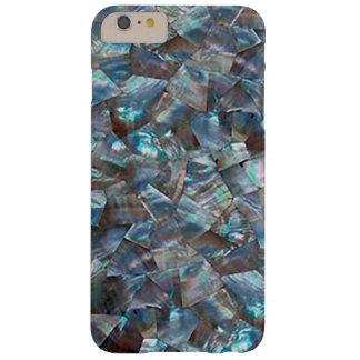 Azul nacarado funda para iPhone 6 plus barely there