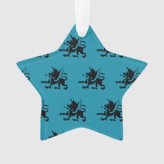 Azul negro de los dragones