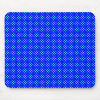 Azul neto del modelo con ciánico mouse pads