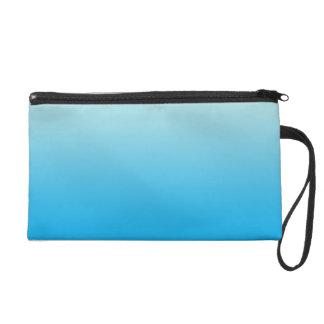 Azul Ombre de la aguamarina