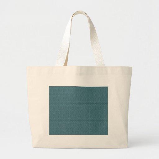 Azul ornamental bolsas de mano