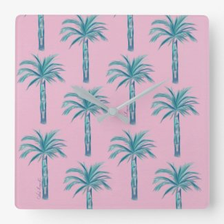Azul Palms clock