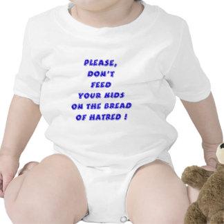 Azul - pan del odio trajes de bebé