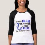 Azul para alguien necesito la enfermedad de Huntin Camisetas