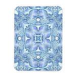 Azul para la mamá imanes