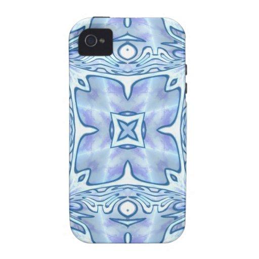 Azul para la mamá iPhone 4/4S fundas