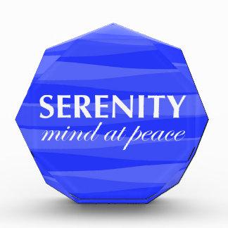Azul para la serenidad