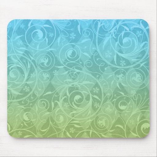 Azul para poner verde pendiente tapetes de ratones