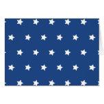 Azul patriótico y el blanco protagoniza la tarjetas