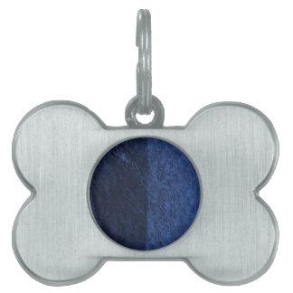 azul placas de mascota