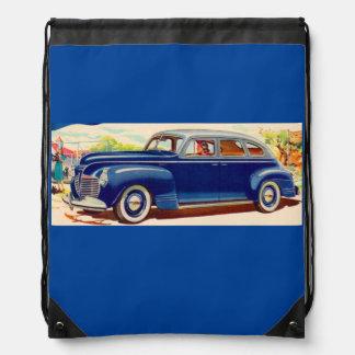 azul Plymouth 1941 Mochilas