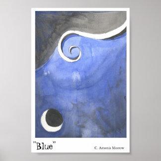 Azul Póster