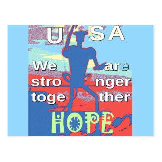 Azul precioso de los 2016 E.E.U.U. Hillary somos Postal