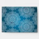 azul profundamente marroquí de la opción 2 del sob