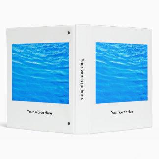 """Azul profundo bonito del agua que ondula la foto h carpeta 1"""""""
