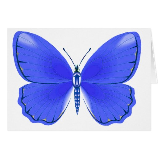 Azul profundo débil tarjeta de felicitación