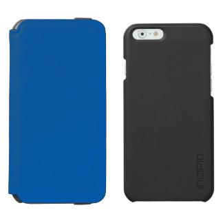 Azul profundo funda billetera para iPhone 6 watson