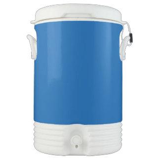 Azul profundo vaso enfriador igloo