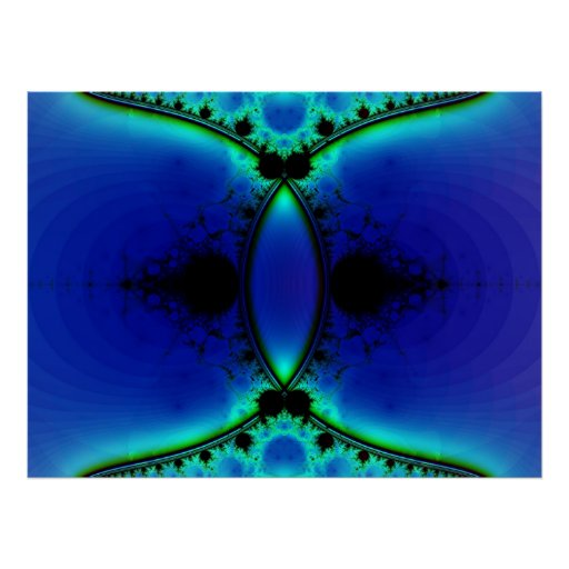Azul profundo póster