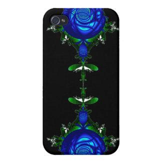 Azul psicodélico iPhone 4/4S funda