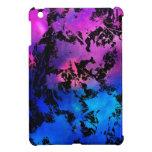 Azul púrpura de la salpicadura de la tinta iPad mini coberturas