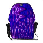 azul púrpura maravilloso bolsa de mensajeria