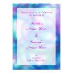 Azul, púrpura y boda del trullo