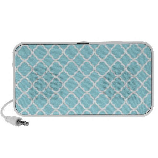 Azul Quatrefoil de la ventisca iPhone Altavoz