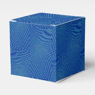 azul que compone del modelo cajas para regalos de boda