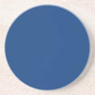 azul real brillante posavasos diseño
