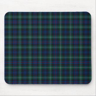 Azul real de Mackenzie del clan y tartán de Forest Tapete De Ratón