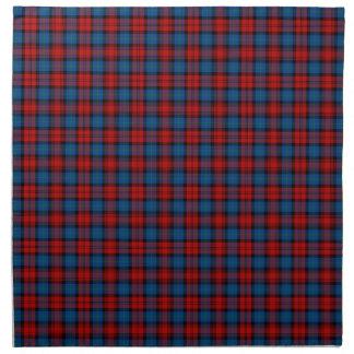 Azul real del clan de MacLachlan y tartán escocés Servilletas De Papel