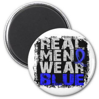 Azul real del desgaste de hombres del CFS Imán Redondo 5 Cm
