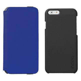 Azul real funda billetera para iPhone 6 watson