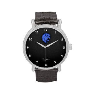 Azul real Leo Reloj
