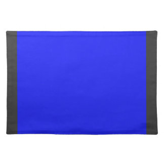 Azul real Placemat Manteles Individuales