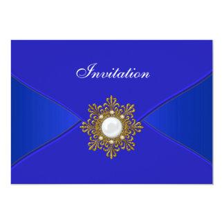 Azul real todo el fiesta de la ocasión anuncio personalizado