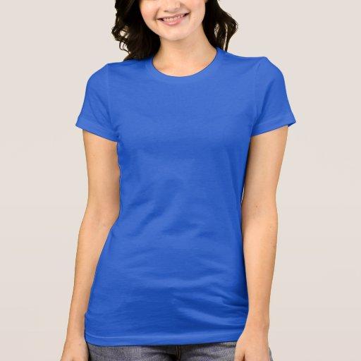 Azul real verdadero de la camiseta del jersey de B