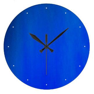 Azul Reloj Redondo Grande
